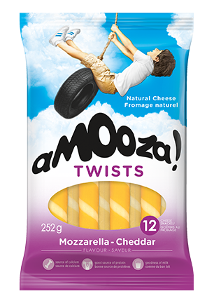 Collation Mozzarella Cheddar Amooza 252 g
