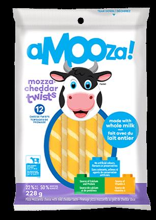 Amooza Mozzarella Cheddar Snack 252g