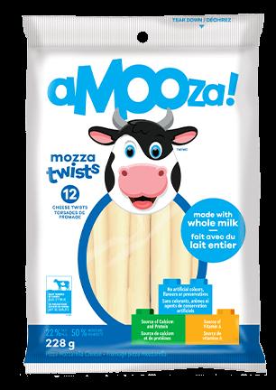 Amooza Mozzarella Snack 252g